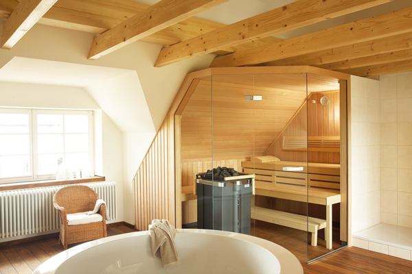 Sauna im Bad | BAD/DESIGN