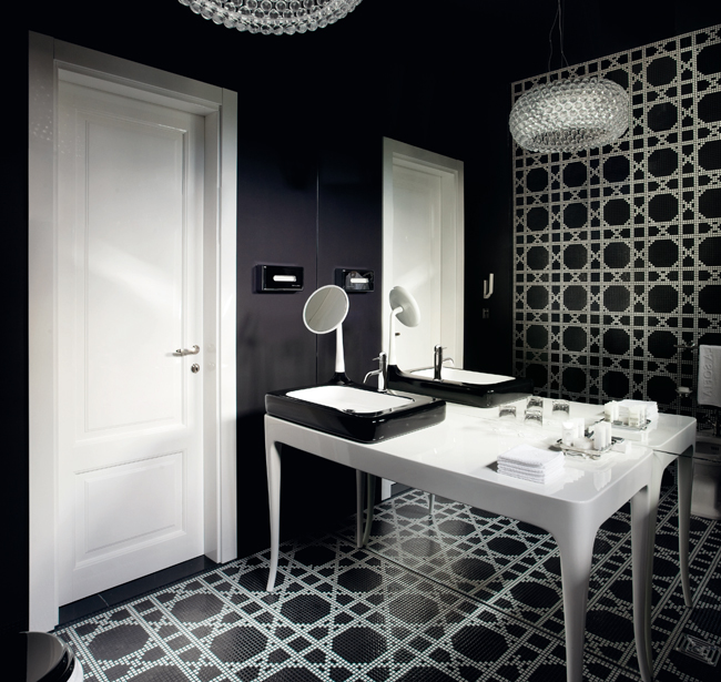 Black-and-white-Badezimmer-5