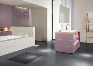 Fliesen prägen den Stil von Badezimmern