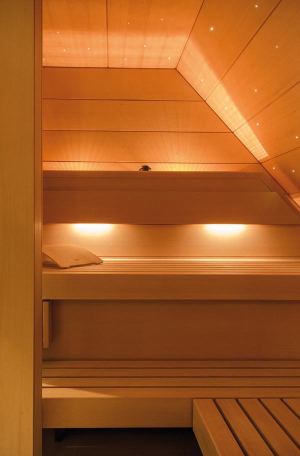 LED-Sauna