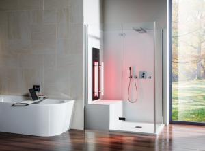 Infrarot für Dusche und Dampfbad