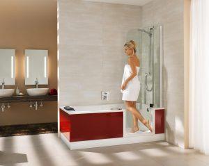 Die Badewanne der Zukunft