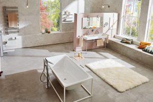 Grosses Bad, mehr Raum zur Entfaltung