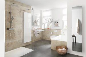 Vielfältige Teilsanierung im Badezimmer
